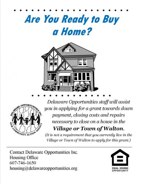 Home Grant Flyer