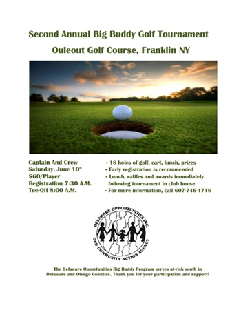 BB golf flyer