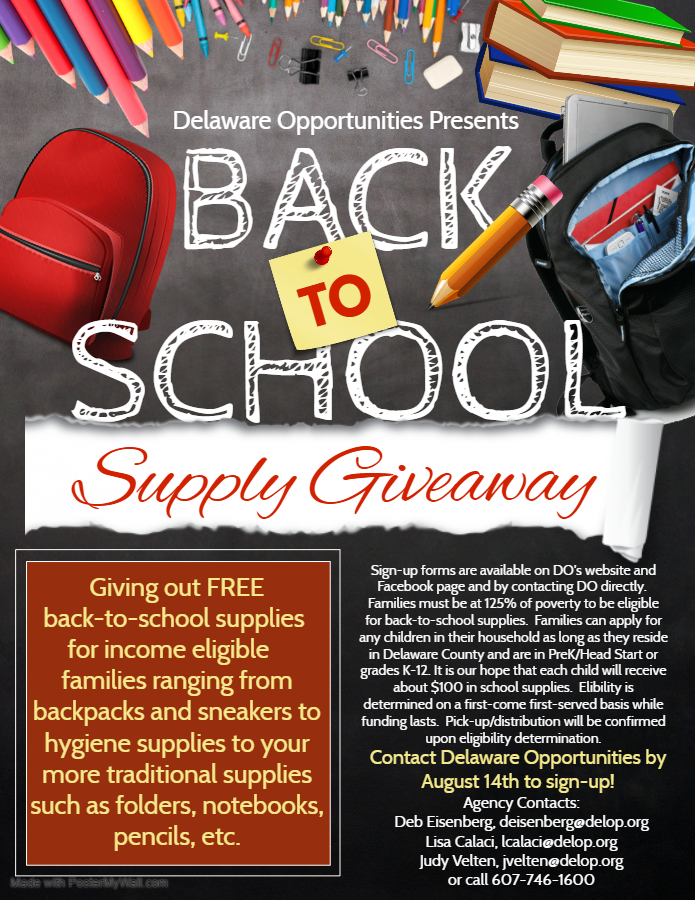 Back-to-School Supply Initiative